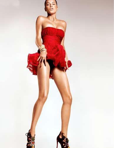 Adriana Lima'dan sıradışı pozlar! - 6