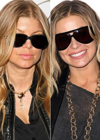 Fergie ve Carmen Electra'nın farklı stilistlere ihtiyacı var...