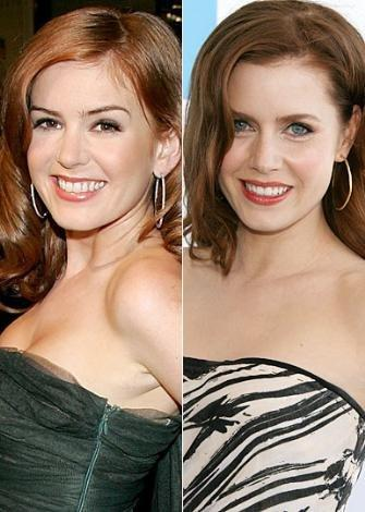 Isla Fisher ve Amy Adams