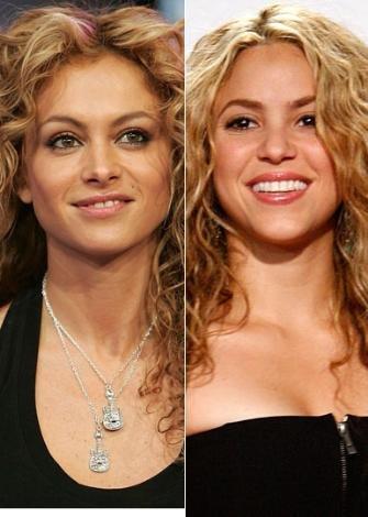 Paulina Rubio ve Shakira