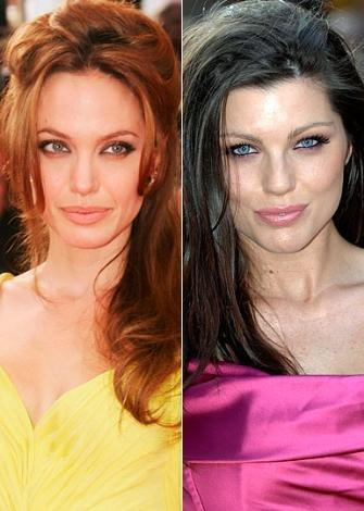Angelina Jolie ve Helen Flanagan