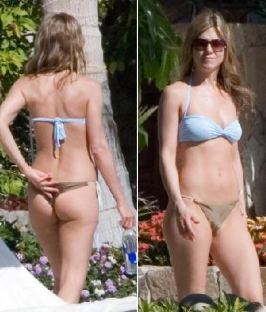 Jennifer Aniston 40 yaşına girdi. Ama hala genç kızlığındaki görünümünü koruyor.  Jennifer Aniston