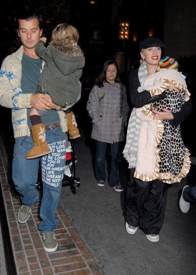 Gwen Stefani - Gavin Rossdale: Anne- baba