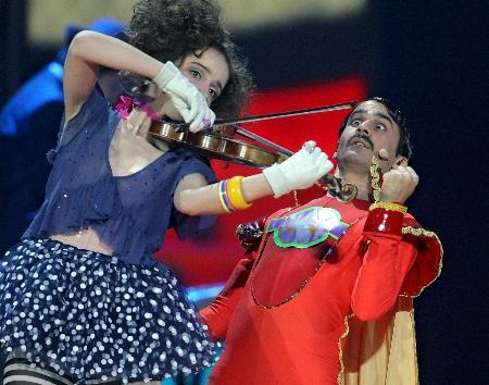 Eurovision'da kıyafetler de yarışıyor - 30