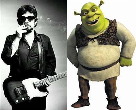 Okan Bayülgen Shrek'i seslendirdi...