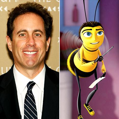 Jerry Seinfield Bee Movie'de