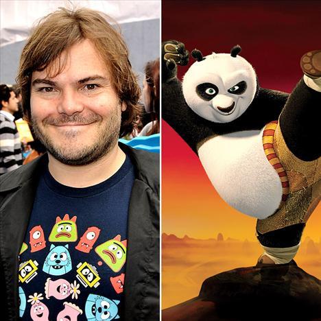 Jack Black - Kung fu Panda