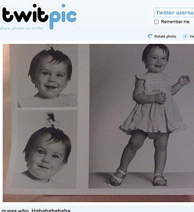 Bu ünlü Twitter'a çocukluk fotoğrafını koymuş. Kim bu bu ünlü yıldız?