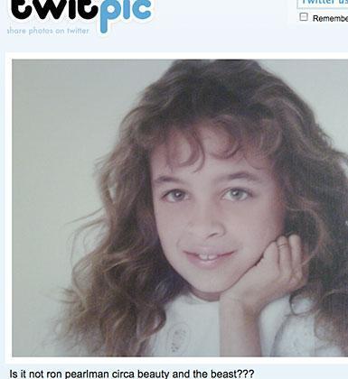 Bu da Richie'nin sevgilisi Joel Madden'ın bir çocukluk fotoğrafı. O zamanlar saçları uzunmuş.