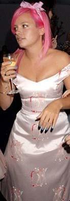 Lily Allen üçüncü sırada.