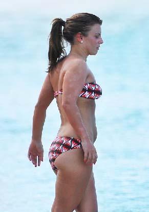 Coleen Rooney de beşinci sırada yer aldı.