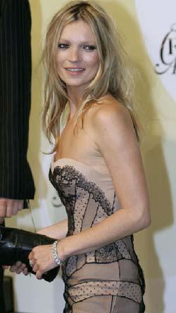 Kate Moss ankette ikinci sıraya yerleşti.