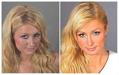 Paris Hilton Daha önceden içkili araba kullanırken yakalandığı için göz hapsindeyken koşulları ihlal ettiği için Haziran 2007'de Paris Hilton 45 gün hapse mahkum edildi.