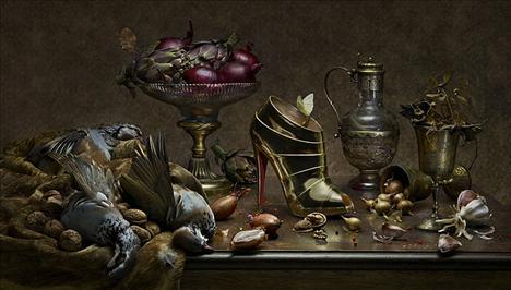 Fotoğrafçı Peter Lippmann'a ait Christian Louboutin imzalı ayakkabıların kampanyası, görenleri büyülüyor...