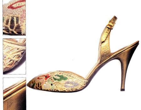 Salvatore Ferragamo tasarımı 1956 tarihli ayakkabı.