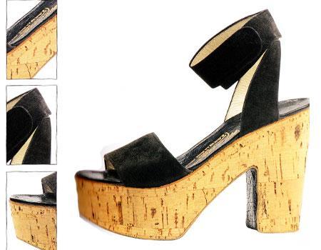 Ayakkabıda devrim oalrak görülen platform tabanlı ayakkabı. Massaro tarafından 1992 yılında tasarlandı.