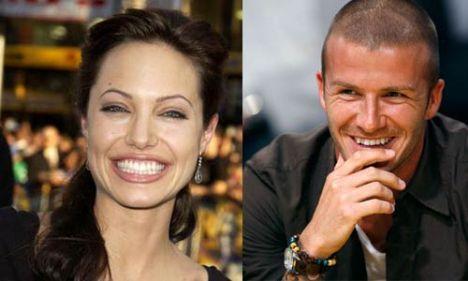 Dünyaca ünlü iki 'güzel' aynı karede yer alacak. Emporio Armani ile anlaşma imzalayan Hollywood'un yetenekli ve güzel yıldızı Angelina Jolie ile kadınların rüyalarını süsleyen futbolcu David Beckham'ın yer alacağı reklam şimdiden merak uyandırdı.