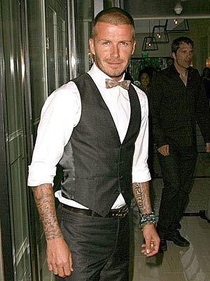 Jolie-Beckham Armani için poz verecek - 6
