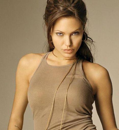 Jolie-Beckham Armani için poz verecek - 3