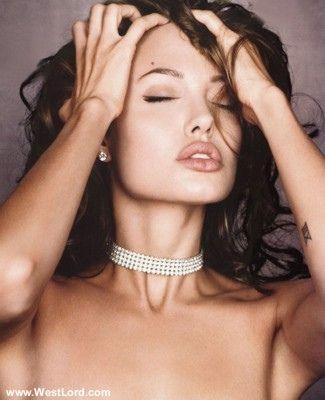 Jolie-Beckham Armani için poz verecek - 5