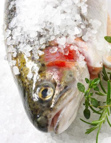 ALABALIK  Somonun akrabası olan alabalığın 85 gramında 4.2 mikrogram B12 vitamini bulunur.