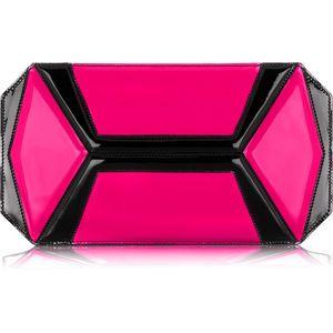 Alexander McQueen Neon panel clutch