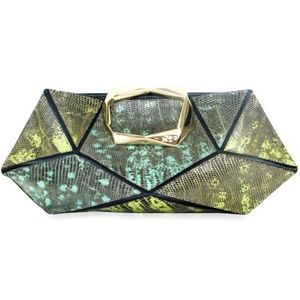 Roger viver-tejus facted clutch