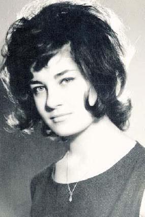 Sayın'ın gençlik yıllarından bir fotoğraf.