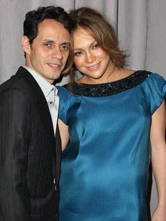 Lopez Marc Anthony ile evlendi.