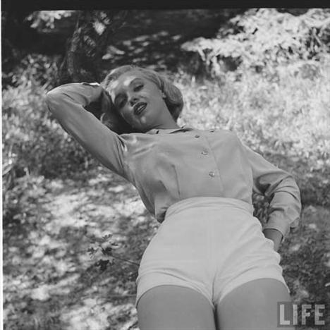 Marilyn Monroe'nun görülmemiş fotoğrafları - 13