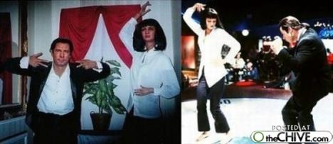 John Travolta ve Uma Thurman