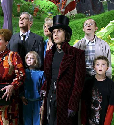 Charlie ve Çikolata Gabrikası'nda Johnny Depp'in oynadığı karakteri başka ünlü aktörler de oynayabilirdi..