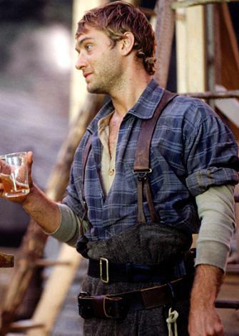 Jude Law'ın Soğuk Dağ'da oynadığı Inman karakteri için...