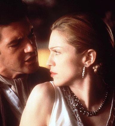 Eva Peron'u Madonna canlandırdı.