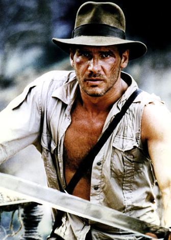 Kutsal Hazine Avcıları'nda Harrison Ford oynadıve onun kariyeri için deçok iyi oldu.
