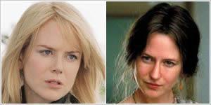 7. Nicole Kidman, Saatler (2002) Çoğu insanın Nicole Kidman'ın bu filmdeki başarısının sadece özenle makyajlanmış burnundan kaynaklandığı düşüncesi yanlış çünkü fazlasıyla depresif oyunculuğu bundan daha fazlasını hak ediyor. Burun Nicole'un yarattığı karaktere kattıklarından sadece bir tanesiydi ama o olmadan da Oscar'ı gayet kazanabilirdi. Performansı fiziksel görüntüden çok ötedeydi. Aksanı, mimikleri, jestleri ve karaktere kattıklarıyla mükemmele ulaştı.