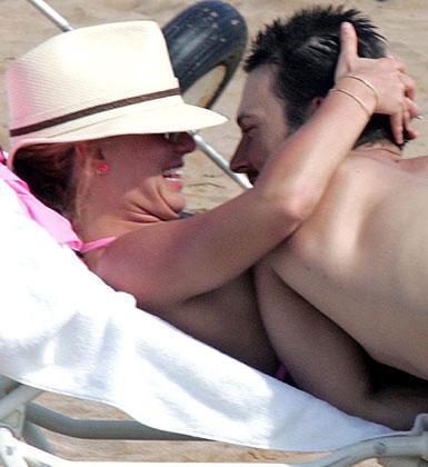 Britney Spears ile Kevin Federline'ın mutlu günlerinden  Britney Spears