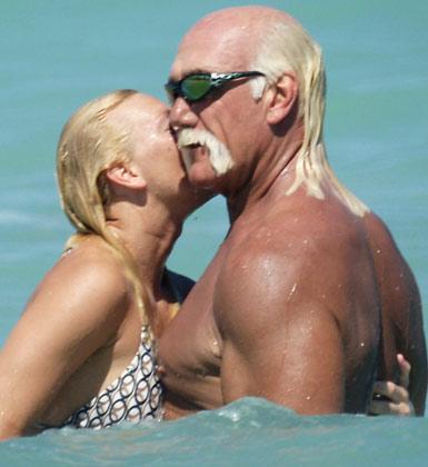 Hulk Hogan ve eşi geçen yıl boşandı.