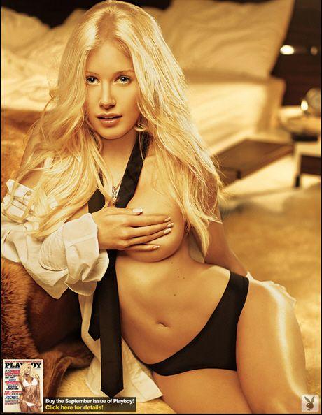 The Hills'in seksi yıldızı Heidi Montag,Playboy dergisine soyundu!