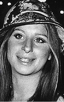 İşte o ünlü yıldız. Barbra Streisand