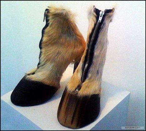 Bu fantastik ayakkabılar yıkılıyor! - 6
