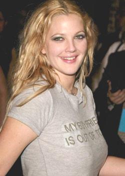 """Drew Barrymore """"Erkek arkadaşım şehir dışında""""  Diğer resimleri için tıklayın..."""