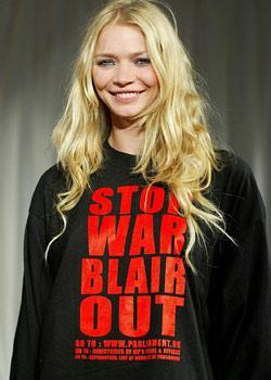 """Joddie Kidd  """"Savaşı durdur, Blair'i gönder"""""""