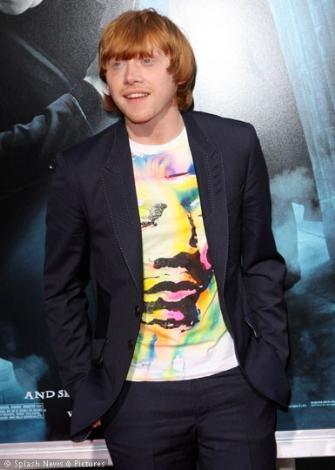 21 yaşındaki Rupert Grint Paul Bettany'nin tahtına aday gösteriliyor.