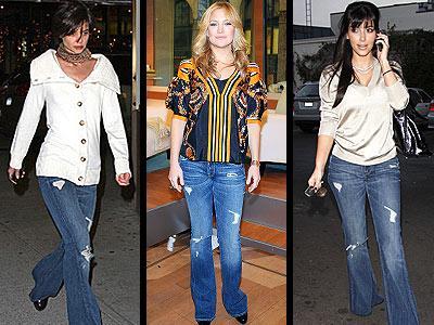 Sezonun en iddialı trendlerinden biri olan yırtık jeanler ise sadece skinny modellerde değil boyfriend ve boru paçalı modellerde de gayet iddialı bir görünüm yaratıyor. Hatta eğer yolunuz Mavi Jeans'e düşerse yırtık jean'lerin şalvarı andıran versiyonuna rastlamanız da mümkün. Markanın Harem adını verdiği 80'lerin şalvar modeli modern dokunuşlar katılarak yeniden revize edilmiş. Söz konusu model, Miss Sixty, Diesel gibi yabancı markaların koleksiyonlarında da yer alıyor.