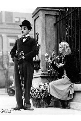 Charlie Chaplin-Gwen Stefanie
