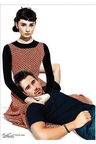 Audrey Hepburn-Colin Farrell