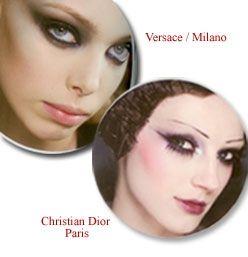 Dior'da dudakların biçimi de çok önemli. Oryantal esintili yüzlerin odak noktalarını, mürdüm renkleri oluşturuyor. Dudaklar, boyama yoluyla küçültülerek, ağzın yüzde kapladığı alan azaltılarak görünümün porselen bebeğe benzemesi sağlanıyor.  Kırmızıyı kullanmanın bir yolu da, Galliano'nun donuk yüzlü Ukraynalı modellerine getirdiği yaklaşım; kızlar sanki binlerce kez öpülmüş de yüzlerinde sadece hafif bir kızıllık kalmış gibi uçuk bir renk uygulamak. Lanvin'in kırmızı dudak isyanı ise klasik bir görünümü olabildiğince modernleştiriyor.