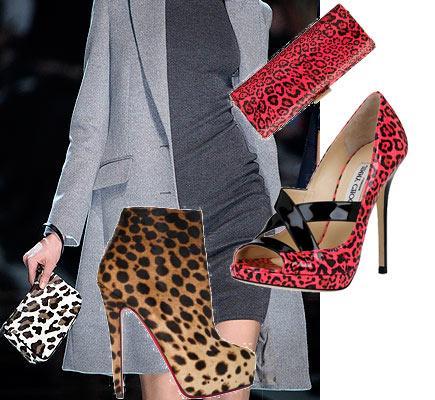 Leopar deseni giymenin incelikleri:  — Bu desenin seksi olduğu bir gerçek. O yüzden kıyafetinizin aşırı dekolte olmamasına dikkat edin. Bu dereceyi ayarlayabilirseniz leoparı hem seksi, hem de elegan kılabilirsiniz.  — Baştan aşağıya bu desene bürünmek istemiyorsanız sadece tek bir aksesuarla da aynı etkiyi yaratabilirsiniz. Örneğin siyah bir elbiseyi leopar desenli bir ayakkabı ya da çantayla daha modern vurgulamak mümkün. .  — Leopar yeni sezonda kırmızıdan maviye, sarıdan pembeye kadar hemen her renkte karşımıza çıkıyor. .  — Leopar deseninin 'tamamlama' rahatlığı olduğunu da aklınızda bulundurun. Bu desen hemen hemen her renkle rahatça tamamlandığı için giyim özgürlüğü de tanıyor insana. Eğer ayakkabı ya da çantada leopar tercih ediyorsanız her kıyafetinizle gönül rahatlığıyla kullanabilirsiniz. .  — Leopar giyen kadın 'kendine güvenen kadın imajı' çizer. Herkesin giymeye cesaret edemediği bir desen olduğu için siz de giyin!