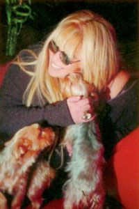 """Zerrin Özer  Pop müziğin efsane seslerinden olan Zerrin Özer, """"Zilli"""" adında terrier cinsi bir köpeğe sahip."""